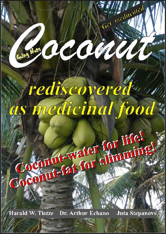Coconut rediscovered as medicinal food book