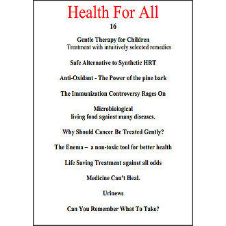 Health for All 16